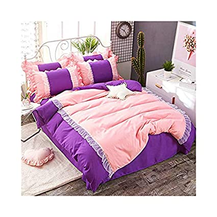 Amazon.com: KFZ Bed Set Girls Magic Princess [4pcs HT Twin ...
