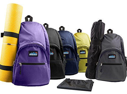 Meru Yoga Sling Backpack Waterproof Crossbody Bag Gym