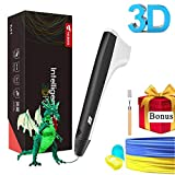 TECBOSS 3D Pen for Kids, STEM Toys 3D Printing Pen Mini Printer Drawing Pen Arts and Crafts Supplies with Free Refill Filament, Best Toy Birthday Gifts Toys for Boys Girls Teens Adults