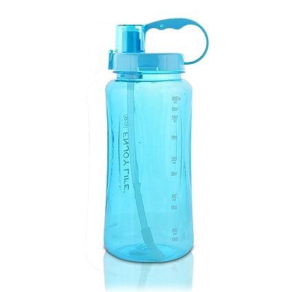 amazon com gti large capacity sports water bottle bpa free wide
