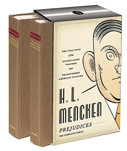 H. L. Mencken: Prejudices: The Complete Series: A Library of America Boxed Set ()