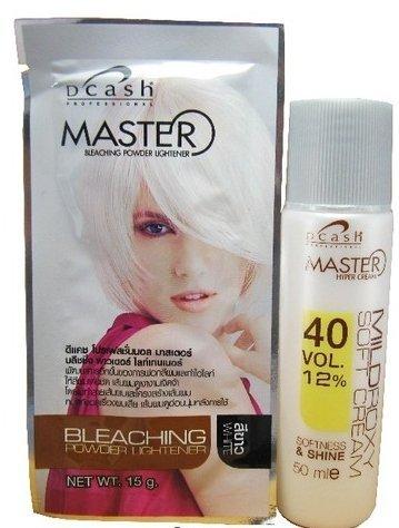 Dcash Мастер волос Хлорная Lightener Kit: Белый 15g
