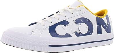 Converse One Star OX White/Navy/White