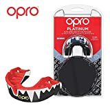 OPRO Platinum Level Mouthguard | Gum Shield for Rugby, Hockey, Boxing, and Other