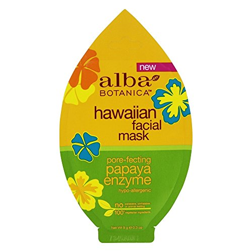Alba Botanica - Hawaiian Pore-Fecting Papaya Enzyme Facial Mask - 0.3 oz.