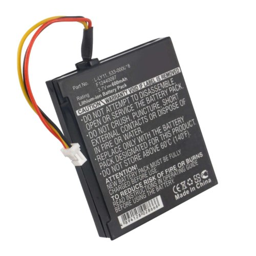 Exell Wireless Mouse Battery 3.7V 600mAh Li-Ion Fits Logitech G930, Gaming Headset G930, Headset G930, MX Revolution Replaces Logitech 533-000018, F12440097, L-LY11 For Sale