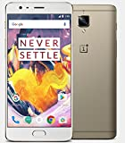 OnePlus 3T, RAM 6GB+ROM 64GB 4G FDD-LTE 5.5 inch Smart Phone Qualcomm Snapdragon 821 Quad Core 2.35GHz 16.0MP A3010 Oro
