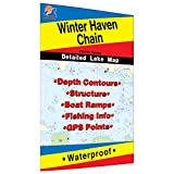 Winter Haven Chain Fishing Map