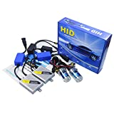 Shuanghong K8 AC 55W Super Fast Quick Start Slim Ballast Canbus Error Free Can-bus HID Xenon Conversion Kit Golden H7-6000K