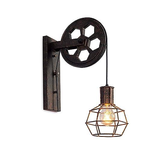 Amazon.com: Ladiqi - Lámpara de techo colgante de cristal ...