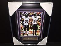 Ray Lewis Ed Reed Baltimore Ravens Sb Xlvii Sb47 Final Game Framed 8x10 Photo