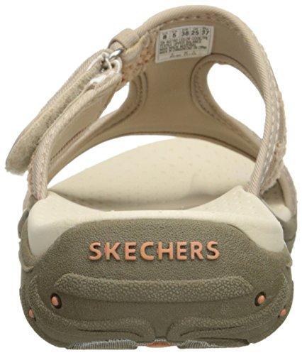 Reggae Print Skechers nbsp;Rockfest Ethnic 47786 femme Taupe Chaussures 6gqwdq4
