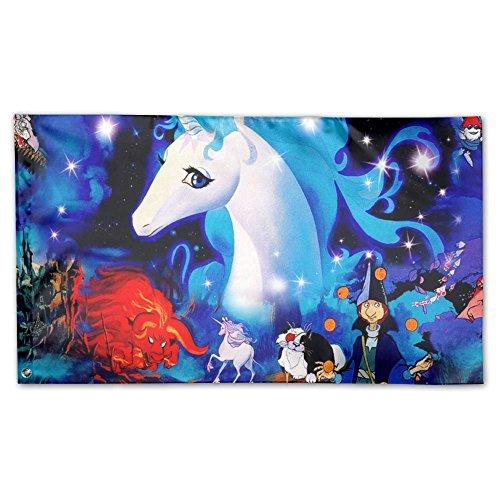 unicorn float deluxe flag