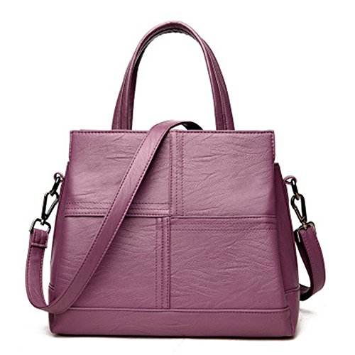 Meaeo Main Purple Simple Diagonale Sac À À À Nouveau Simple Bandoulière Sac Sac Rouge Bandoulière frpwfCq