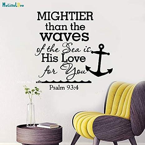 Salmo 93 4 Más poderoso que las olas del mar Cita Tatuajes de ...