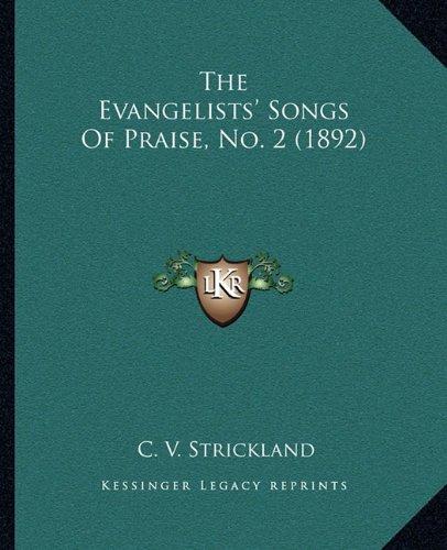 Download The Evangelists' Songs Of Praise, No. 2 (1892) pdf epub