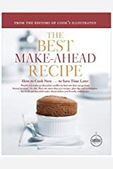 The Best Make-Ahead Recipe Hardcover