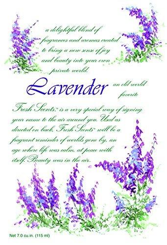 Lavender Fragrance Sachet - Fresh Scents Scented Sachets - Lavender,7.0 cu.in-Lot of 6