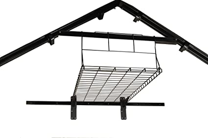 Suncast Loft Shelf   Ceiling Storage And Shelving For Suncast Shed    Hanging Truss System Holding