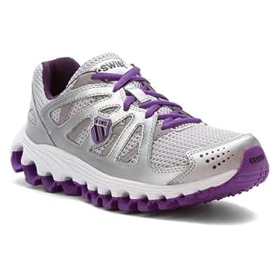 K-Swiss Women's Tubes Run 110, Silver/Mysterioso/Lavender-6