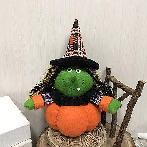 MOKO-PP Halloween Witch Pumpkin Cat Decoration Home Ornament