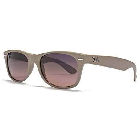 6ed55ab19e Ray-Ban RB 2132 886-77 52 Polarized Blue-Violet Lens Matte Beige Frame  Sunglass  Amazon.ca  Sports   Outdoors
