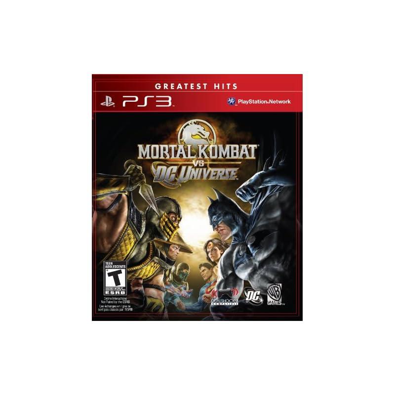 Mortal Kombat vs. DC Universe - Playstat