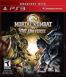 Amazon Com Mortal Kombat Vs Dc Universe Playstation 3 Artist Not Provided Video Games