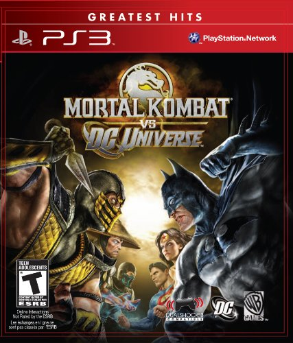 Mortal Kombat vs. DC Universe - Playstation 3 (Fighting Games Ps3)