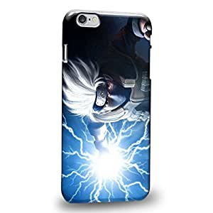 Case88 Premium Designs Hatake Kakashi Shippuden Protective Snap-on Hard Back Case Cover for Apple iPhone 6 Plus 5.5""