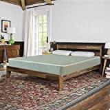 Wayton 7-Inch Medium Firm Double Sided Tight top Foam Rolled Vinyl Mattress, Good for The Back, Green, Twin