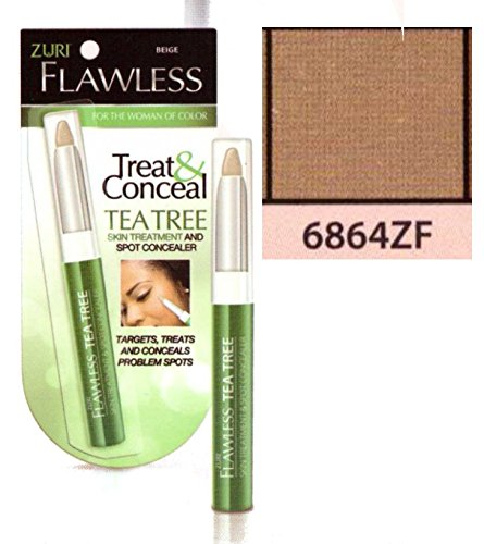 Zuri Flawless Treat & Conceal Tea Tree Skin Treatment & Concealer - Sand