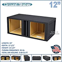 12 Dual ported Solo baric subwoofer box