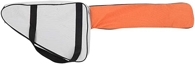 Funda de Transporte de La Bolsa de La Motosierra Protección Portátil Soporte Impermeable Apto Para Stihl & Husqvarna Motosierra Almacenamiento Organizador(Orange)