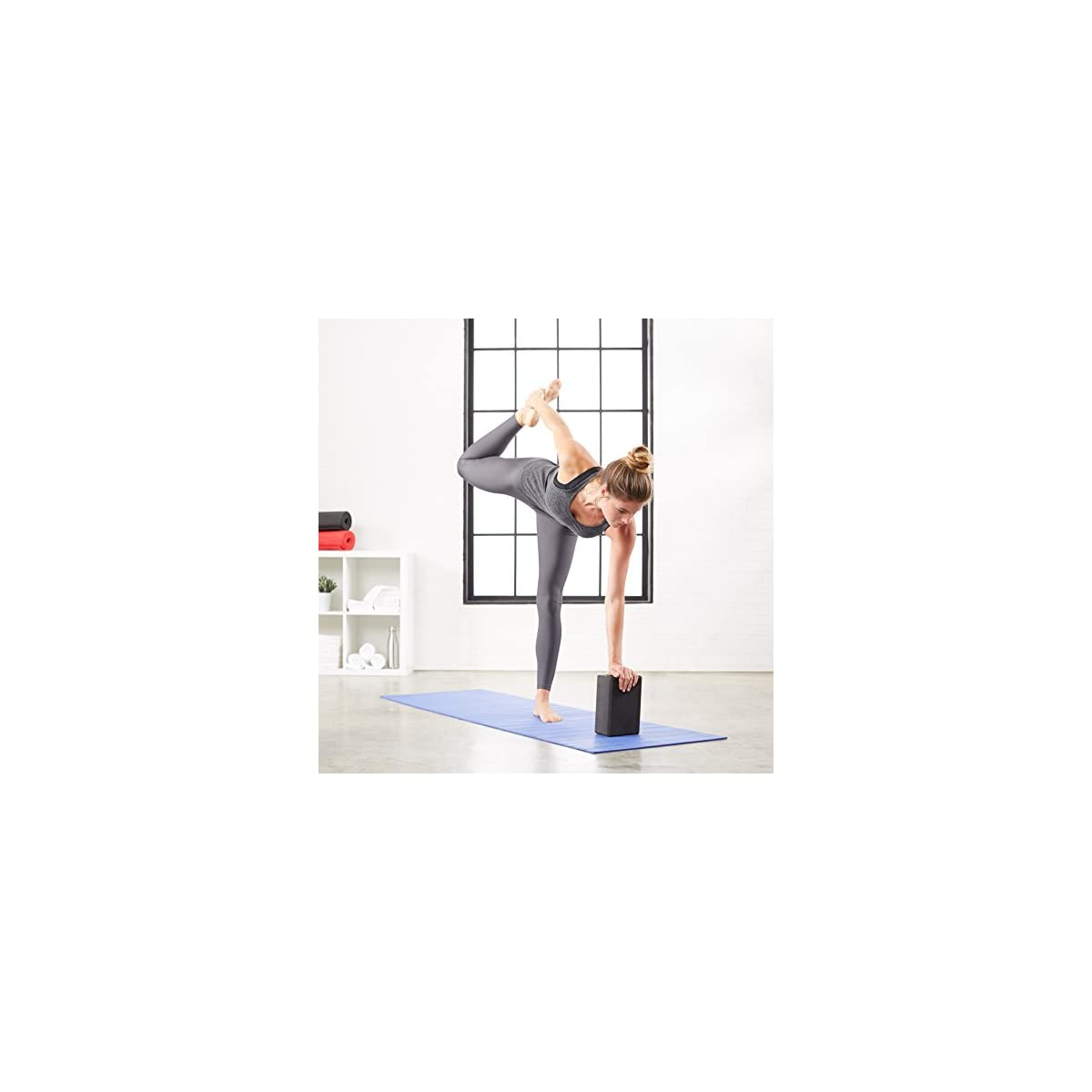 Supportive Foot Exercise Balance, Yoga Foam Wedge Blocks Pair Soft Wrist Wedge