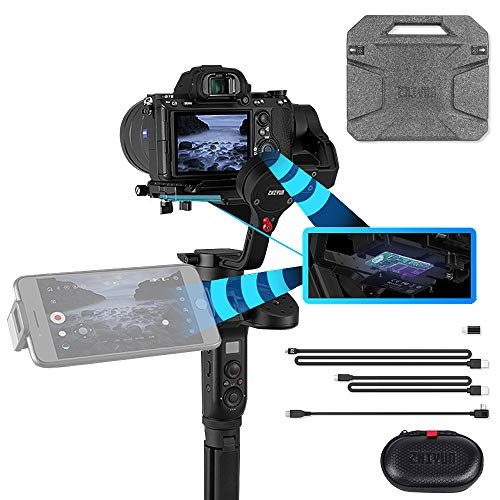(Zhiyun WEEBILL LAB Versatile Structure Redefine Handheld Stabilizer for Mirrorless Cameras, Wireless Image Transmission, ViaTouch Control System, Motion Sensor Control, POV & PhoneGo)