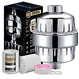 ETbotu - Juego de filtros de 10 a 15 Capas para Filtro de Agua de Ducha, Filtro de Cloro para Suministros de baño