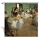 CafePress Degas Dance Class Ballet Dancers Shower Curtain Decorative Fabric Shower Curtain (69''x70'')