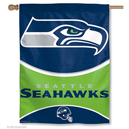 (Seattle Seahawks 28 Inch x 40 Inch Banner)