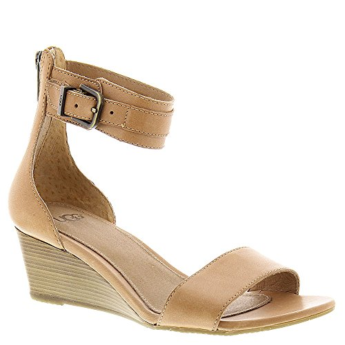 UGG Women's Char Suntan Leather Sandal 10 B (M) by UGG