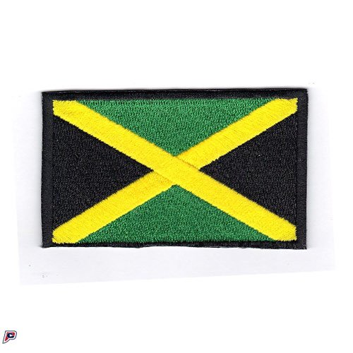 Jamaica Embroidered Country Flag Patch (Jamaica Flag Patch)