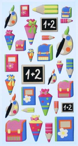 Softy Stickers Schule [Spielzeug]