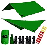 Best Tarp For Camping - CHILL GORILLA 10' hammock rain fly tent tarp Review