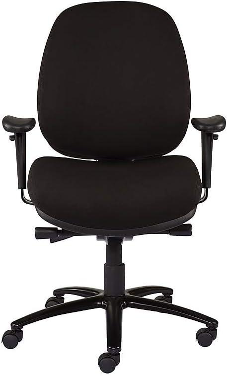 Staples vol Task chair gris foncé Chaise de bureau maille et tissu 24 H Gratuit del