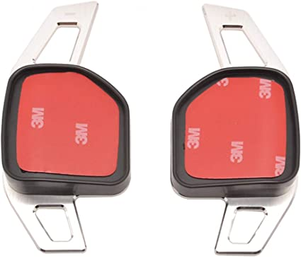 Extension palette au volant Carbone pour Audi A3 S3 A4 A5 A6 A8 R8 TT Q3 Q5 Q7