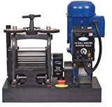 PepeTools Ultra Power Electric Flat Rolling Mill 130mm, MADE IN THE USA
