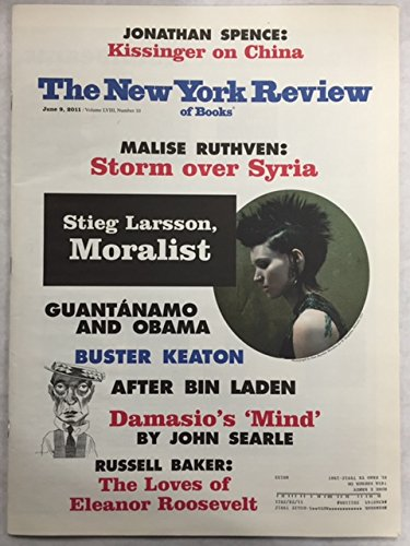 New York Review of Books - June 9, 2011 - Volume LVIII, Number 10 (Tim Parks' review of the Girl With the Dragon Tattoo trilogy, which is featured on the front cover)) (The Girl With The Dragon Tattoo 2011 Review)