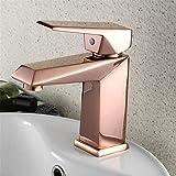 Basin Taps Rose Gold Faucet Exquisite Washbasin Faucet