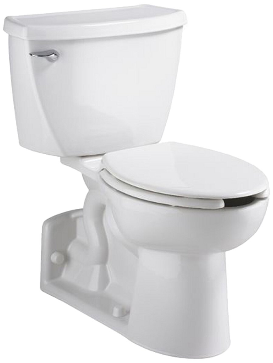 American Standard 2876.100.020 Yorkville Flowise Pressure Assisted Elongated Two-Piece Toilet, White