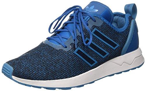 ADV Flux Ftwwht Hombre Running Uniblu de Zapatillas Azul ZX Crablu adidas para OEwqTT